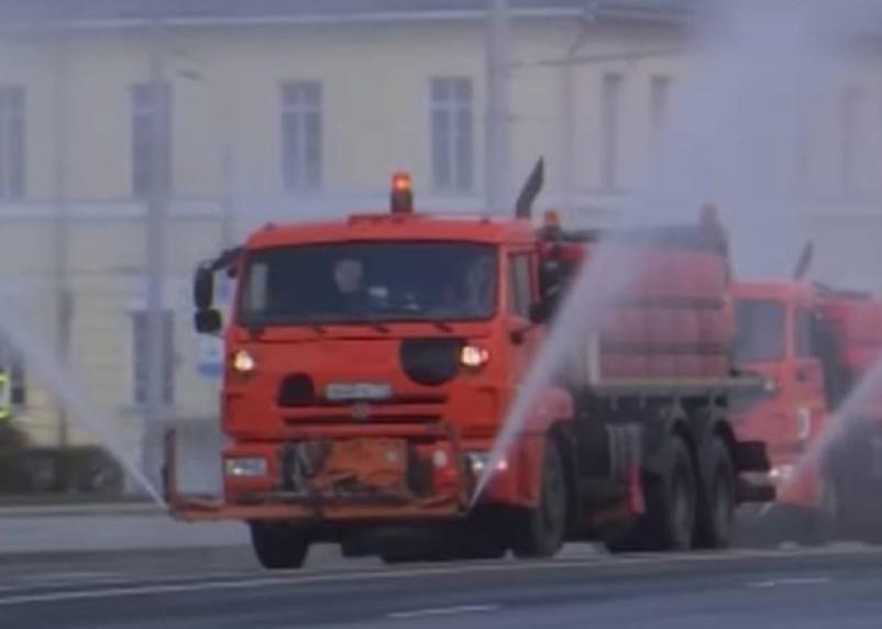«Дезинформация!» Жители Вязьмы назвали «бредом» видео о дезинфекции улиц