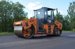 В Смоленской области стартовал ремонт второй региональной дороги по нацпроекту