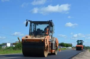 В Смоленской области стартовал ремонт региональных дорог по нацпроекту