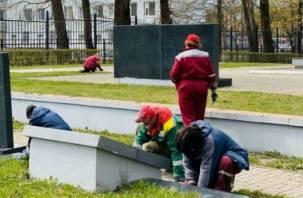 В Смоленске занялись благоустройством воинских захоронений