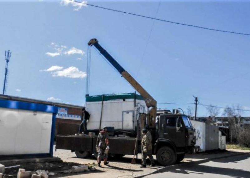 В Смоленске снесут незаконные объекты торговли