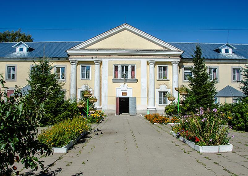 Военные продезинфицировали дом-интернат в Вязьме