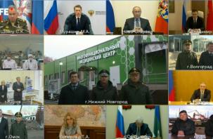 В Нижнем Новгороде открывается первый военный инфекционный центр для больных коронавирусом