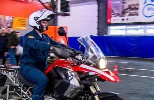 Патрули МЧС будут ездить на мотоциклах