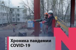 Хроника коронавируса в Смоленской области: главное за выходные дни