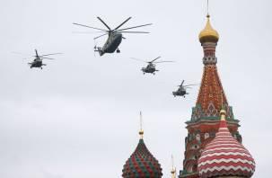 Красочное зрелище. В Москве прошел авиационный парад в честь 75-летней годовщины Победы