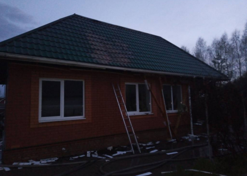За сутки на Смоленщине произошло два пожара из-за грозы