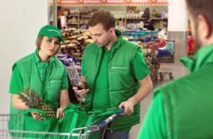 В Смоленске начал работу популярный сервис доставки продуктов СберМаркет
