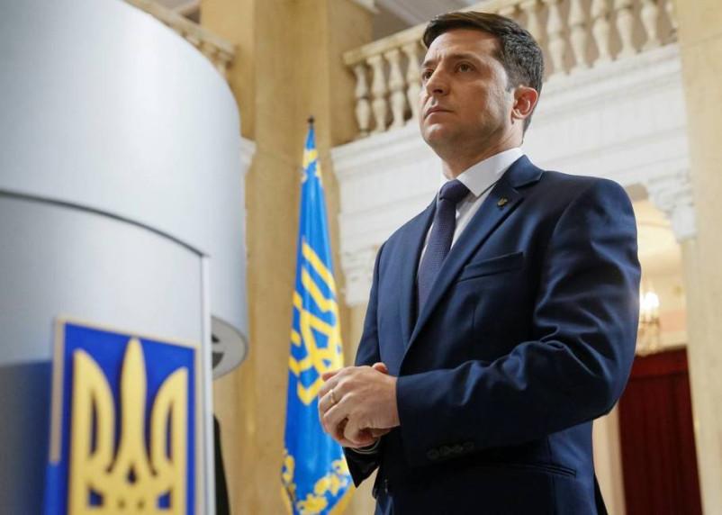 Рейтинг Владимира Зеленского рухнул ниже 20%