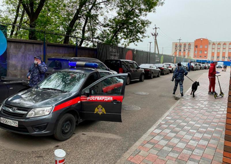 На Каширском шоссе в Москве произошла перестрелка