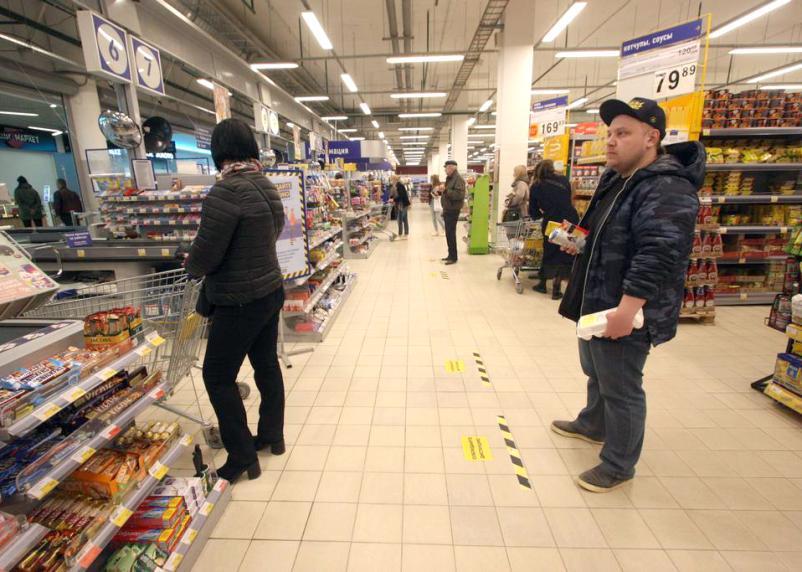 Россиянам без масок в магазинах могут отказать в обслуживании