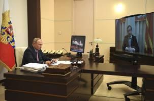 Путин одобрил планы Островского баллотироваться на новый срок