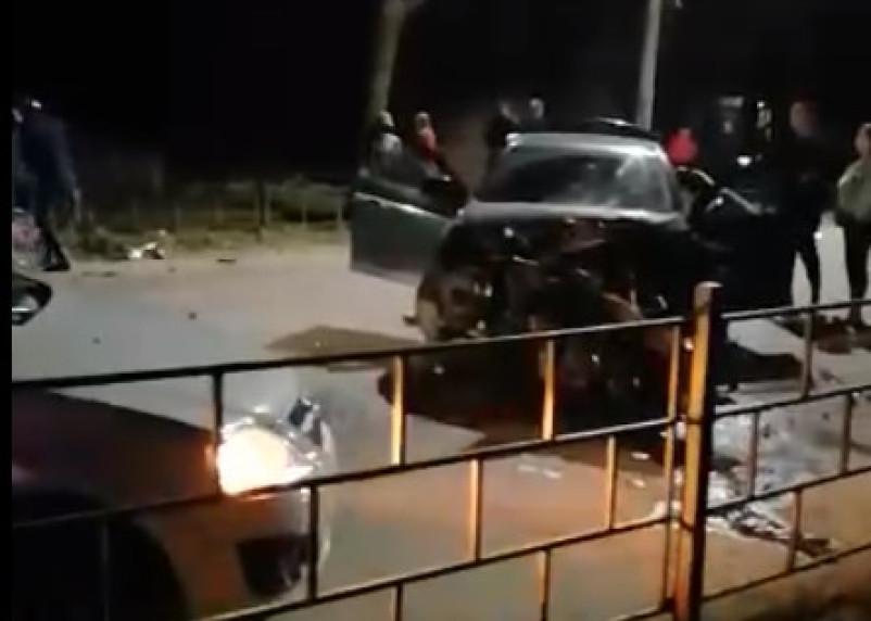 Соцсети: в жуткой аварии в Вязьме погиб человек