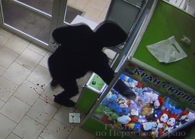 Вязьмич устроил драку с автоматом по продаже детских игрушек