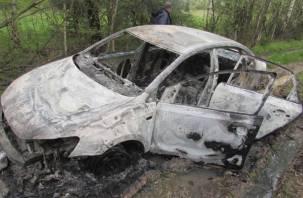 Избил, а затем поджег машину. На Смоленщине жестоко убили молодого таксиста