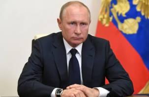 Путин подписал закон о поддержке бизнеса и граждан в условиях пандемии