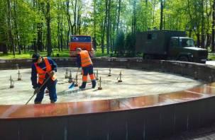 Когда в Смоленске заработают городские фонтаны