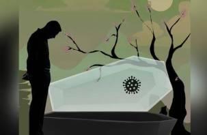 «Уйди из жизни красиво». В России продают элитные дизайнерские гробы для жертв коронавируса