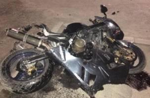 В Вязьме в ДТП пострадал мотоциклист