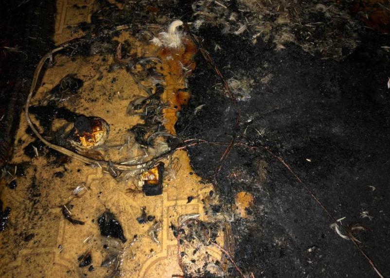 В Вязьме пенсионера спасли с балкона горящей квартиры