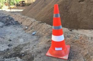 На трех улицах Смоленска дополнительно отремонтируют дороги