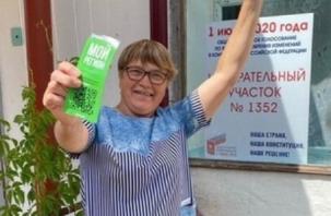 Председатель УИК выиграла квартиру на голосовании по поправкам в Конституцию