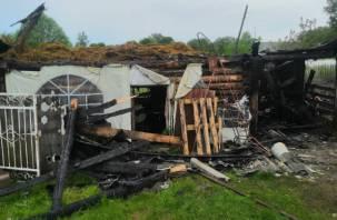 Пожар в Аполье тушили всей деревней
