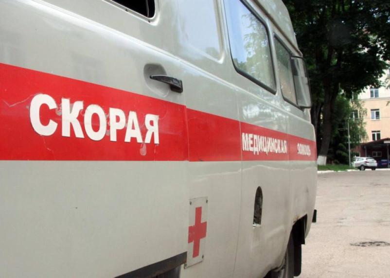 В Рославле автобус снес пешехода. Женщину доставили в больницу