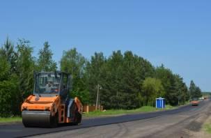 Комфорт и безопасность. В Смоленской области стартовал ремонт пяти региональных дорог