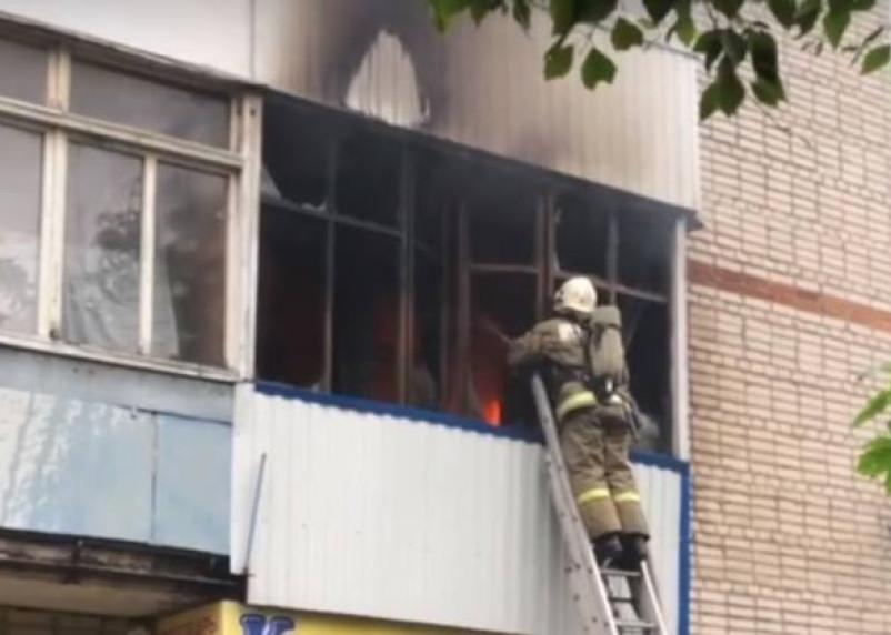Пожар на улице 25 Сентября переполошил смолян