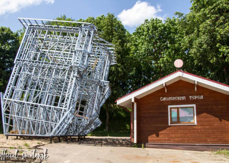 Аттракцион «перевернутый дом» появится в Смоленске