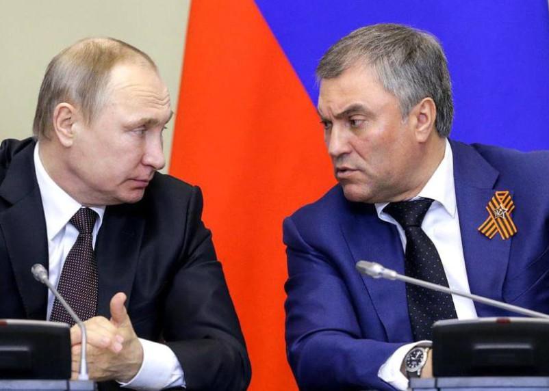 Володин рассказал, кто сменит Путина