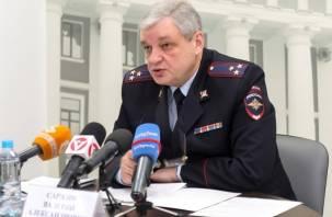Путин назначил нового  главу УМВД по Смоленской области
