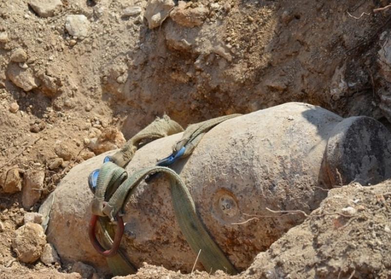 В Смоленске специалисты обезвредили бомбу времен войны