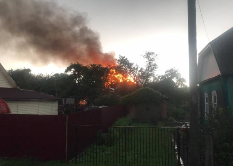 За одни сутки в Смоленской области произошло три серьезных пожара