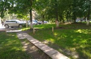 Во дворах центра Смоленска задумали очередную точечную застройку?