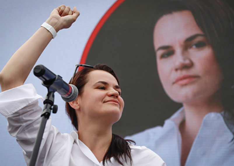 Тихановская отказалась  участвовать в акциях протеста