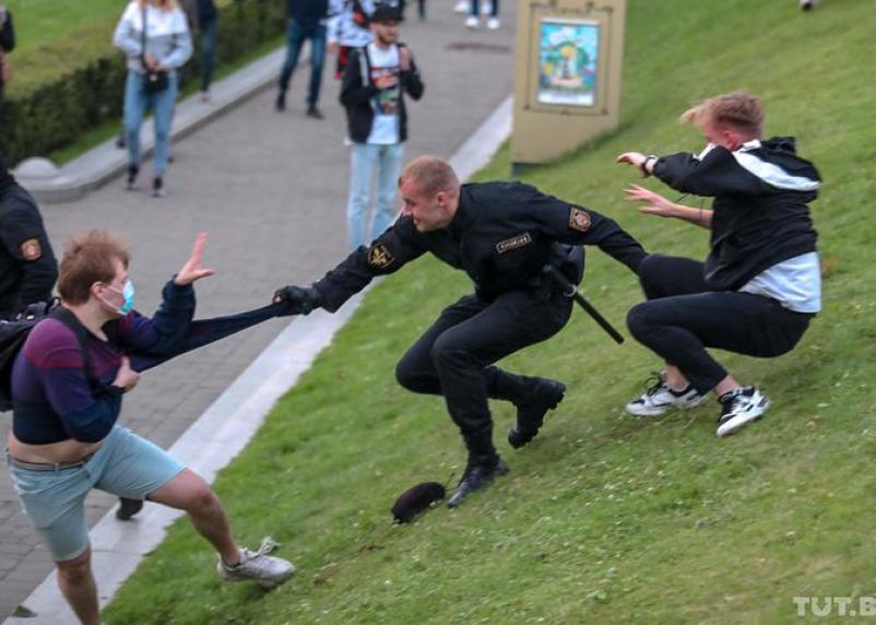 В Белоруссии сообщили о массовых задержаниях в ходе протестов