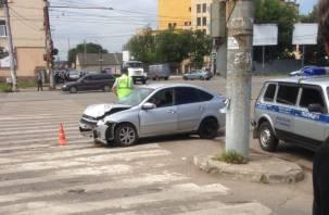 ДТП на Колхозной площади: водитель скончался на месте
