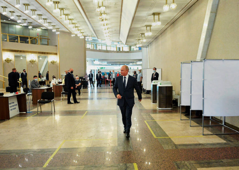 Путин приедет в один из российских регионов. Куда едет «Ревизор»