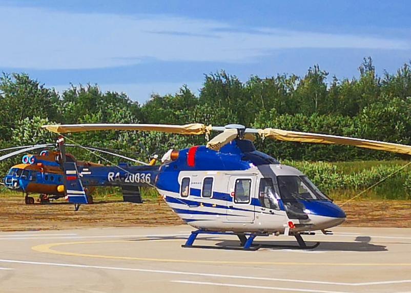 В Смоленске показали вертолет для работы санитарной авиации