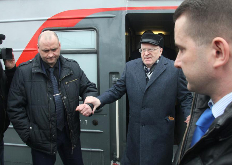 Владимир Жириновский баллотируется в депутаты Смоленского городского Совета
