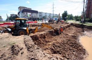 Подрядчика на ремонте улицы Попова призвали обеспечить безопасность пешеходов
