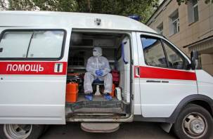 В Смоленской области коронавирус за сутки обнаружили на 8 территориях