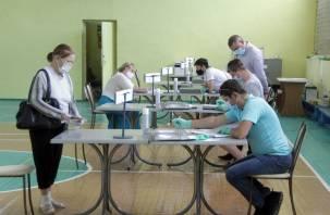 В Смоленской области голосование по Конституции уступает «президентской» явке