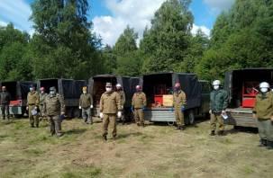 В Смоленской области есть 18 руководителей тушения лесных пожаров