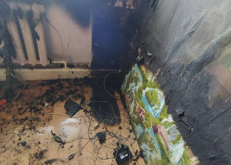 Происшествие в Сафонове. Огнеборцы сумели предотвратить трагедию