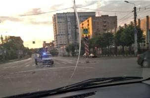 В Смоленске велосипедист попал под колеса иномарки