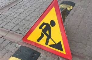До 18 августа в Смоленске ограничат движение по улице Попова