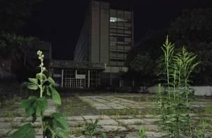 Смоленская гостиница «Россия» превратилась в зону отчуждения